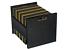 miniatuur 1 - Atlantic 96636247 Record Crate Shelf, 15.40in. X 15.00in. 2.20in Black Fast ship