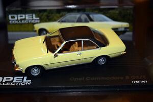 Opel Collection - Opel Commodore B GS/E 2,1 Liter, 1972-1977, in Box (2) - Duisburg, Deutschland - Opel Collection - Opel Commodore B GS/E 2,1 Liter, 1972-1977, in Box (2) - Duisburg, Deutschland