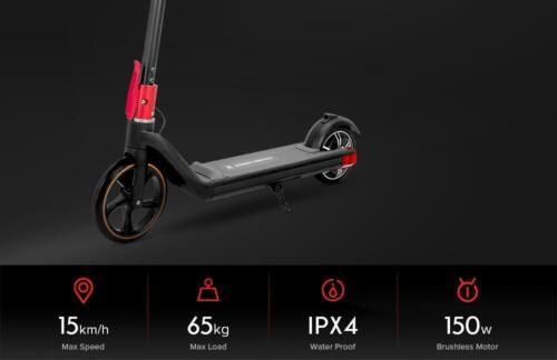 Kugoo Pro Smart /& coffre scooter électrique-Noir-Enfants