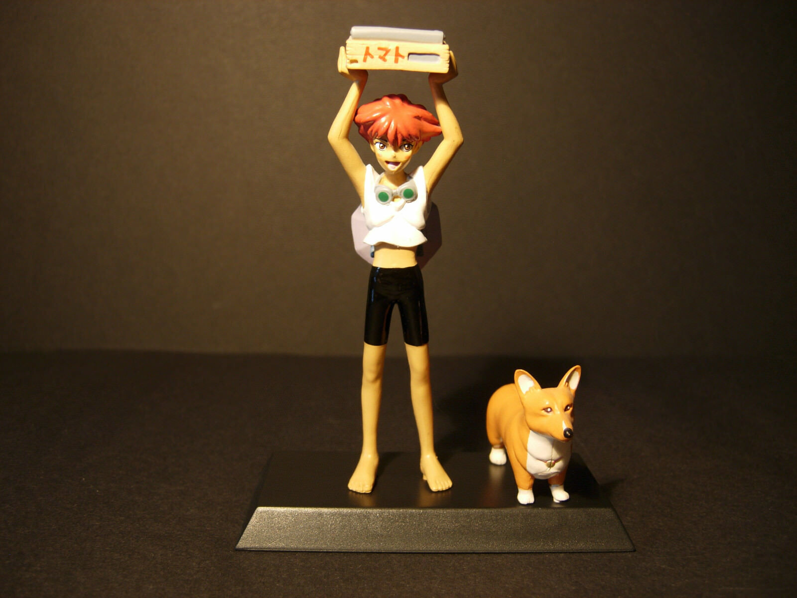 Cowboy Bebop - Edward & Ein  - Very Rare mini figurine - Without original box