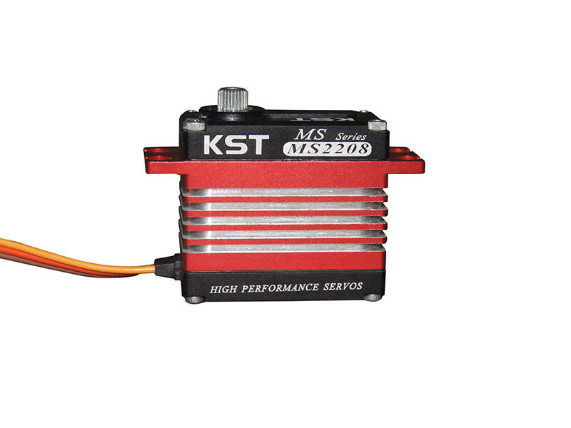 KST MS2208 Brushless HV Standard Cyclic Servo With Hall Effect (Contactless) Sen