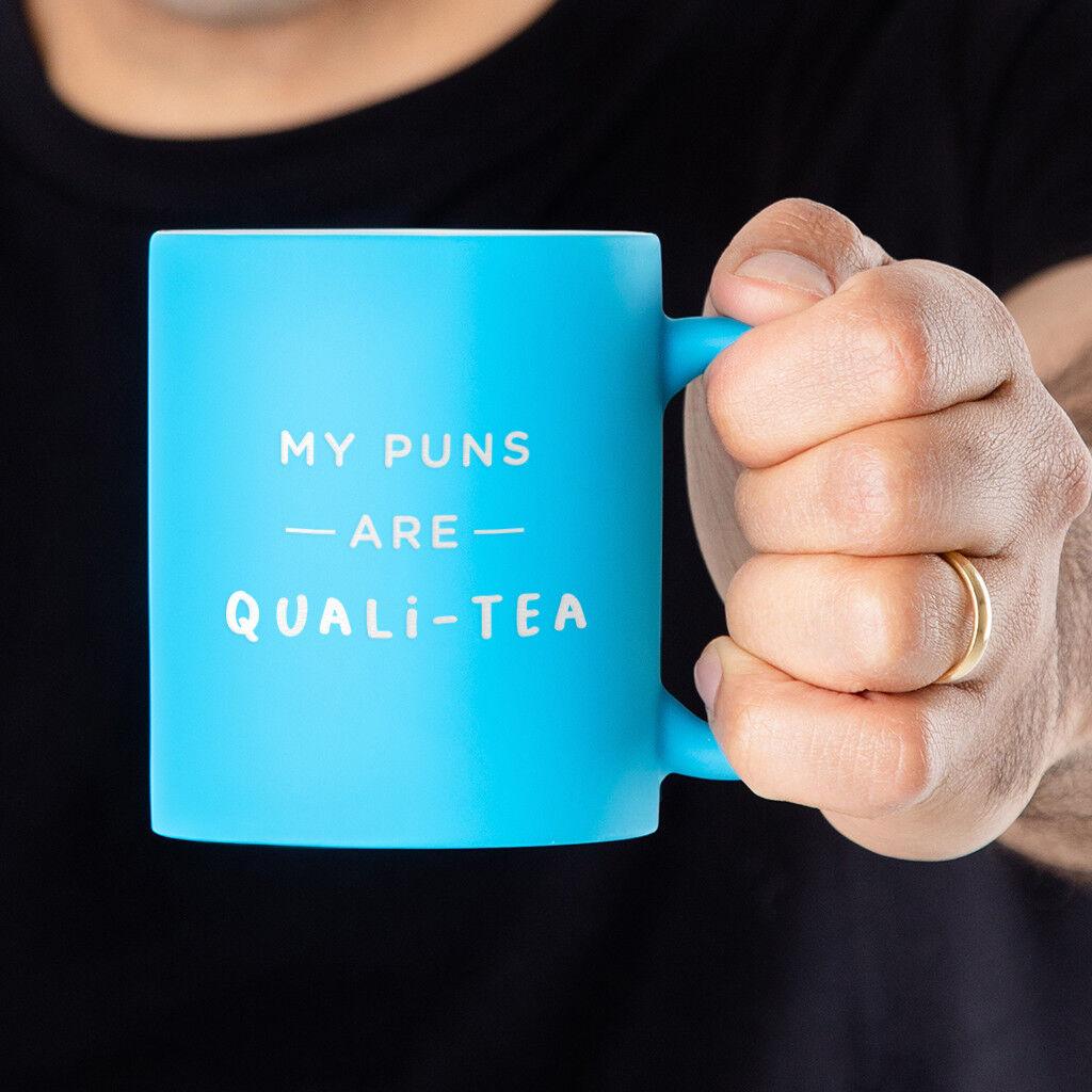 Coffee Christmas Puns.Funny Mug Christmas Secret Santa Gift Idea For Men Him Under