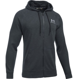 Under-Armour-ColdGear-Sportstyle-Full-Zip-Triblend-Hoodie-Jacke-1290255-001-HG