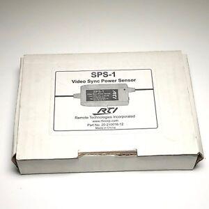 Rti Sps-1 Vidéo Synchronisation Puissance Capteur - Neuf Ictxha91-08012615-707662899