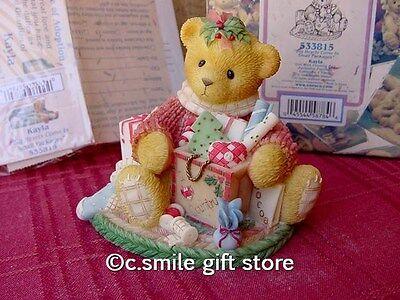 Cherished Teddies *KAYLA* #533815 1999 Special Ltd Ed Enesco MIB Ret