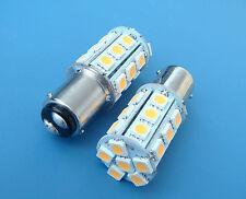 1x BA15D 1142 Warm White LED bulb Boat lights 24-5050SMD DC12V 300LM NEW