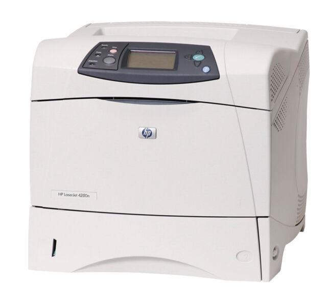 HP LaserJet 4200n LJ4200n 4200 A4 Mono Network Workgroup Laser Printer    MS