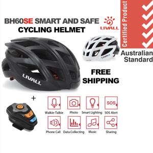 Livall Smart Bike Road  Helmet - Led Light Mic Phone Walkie Talkie FREE SHIPPING  welcome to buy