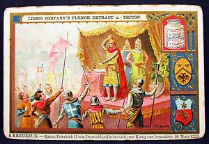 Liebig-Crusade-Kaiser-Friedrich-II-King-from-Jerusalem-1-Picture-Lot-H-6916