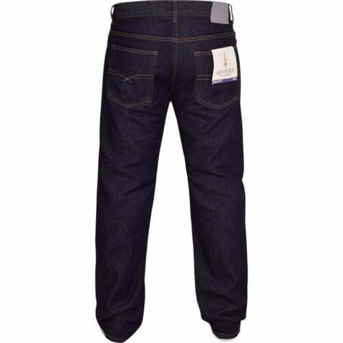 Mens Bootcut Leg Heavy Work Jeans Hardwearing Denim Zip Fly Jean All Waist Sizes