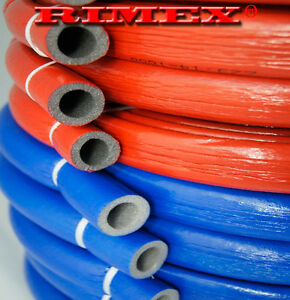 Pipe insulation 10 metres coated polyethylene lagging for Pex water pipe insulation