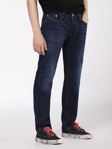 52b65bd2 Image is loading Diesel-Larkee-Jeans-Wash-084VG-Regular-Waist-Straight-