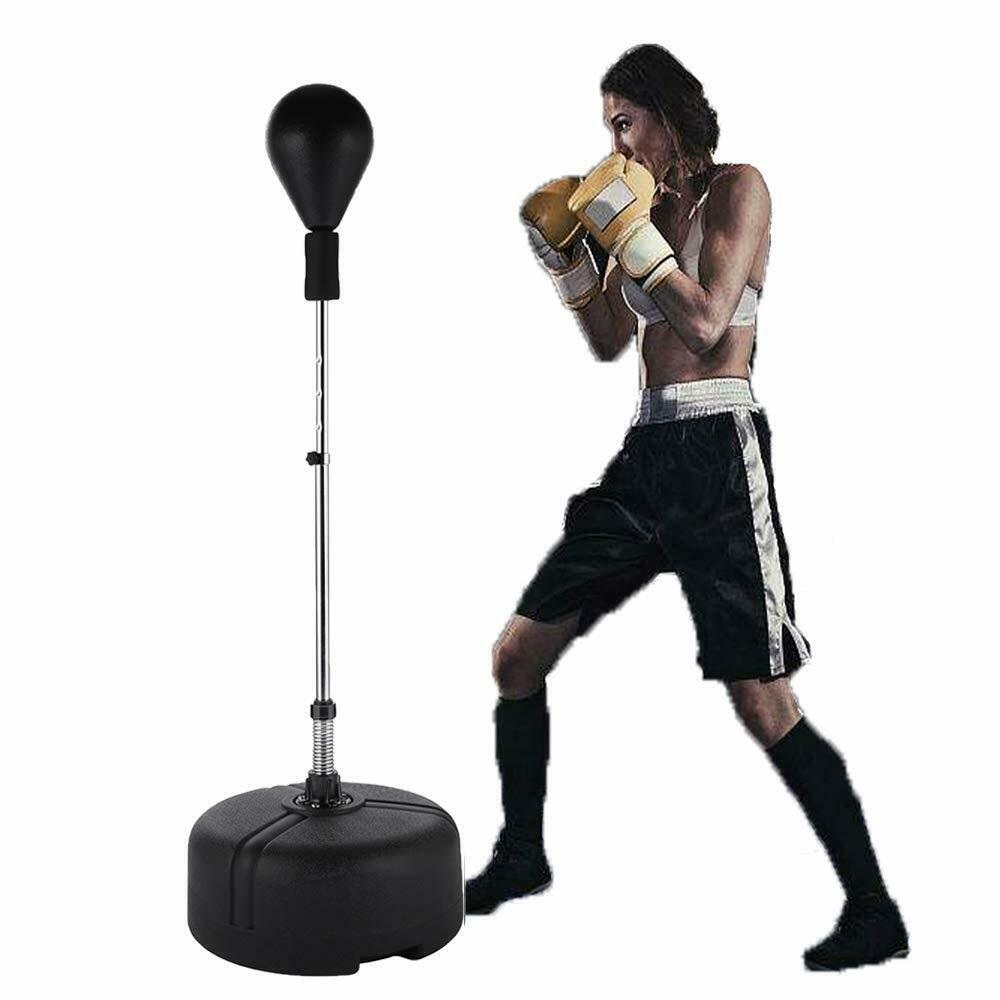 Free Standing Pun ng Bag Speed Ball  Reflex Boxing Bag Adjustable Height  considerate service