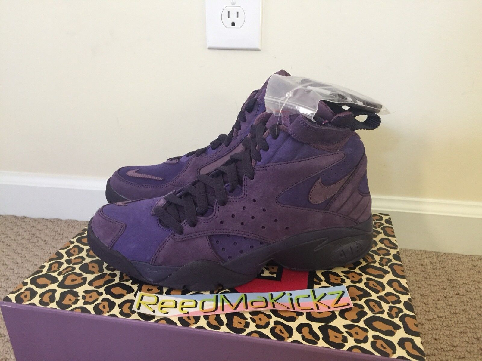 premium selection 5aa05 5765b Nike air Maestro 2 2 2 x Kith Ronnie Fieg Pippen Purple Mens size 7.5 us