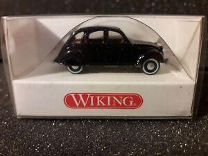 achatgrau Wiking Citroën 2 CV 1:87 #080914