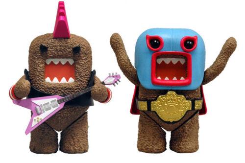 "Mezco #NEW 4/"" Series 1 Collectible Figure Set 2 DOMO"