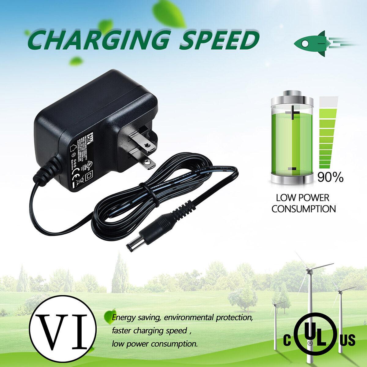 UL 5ft AC Adapter Charger For Peak PKCOCG PKC1AO PKCOAS PKCOAN Power Cord Mains
