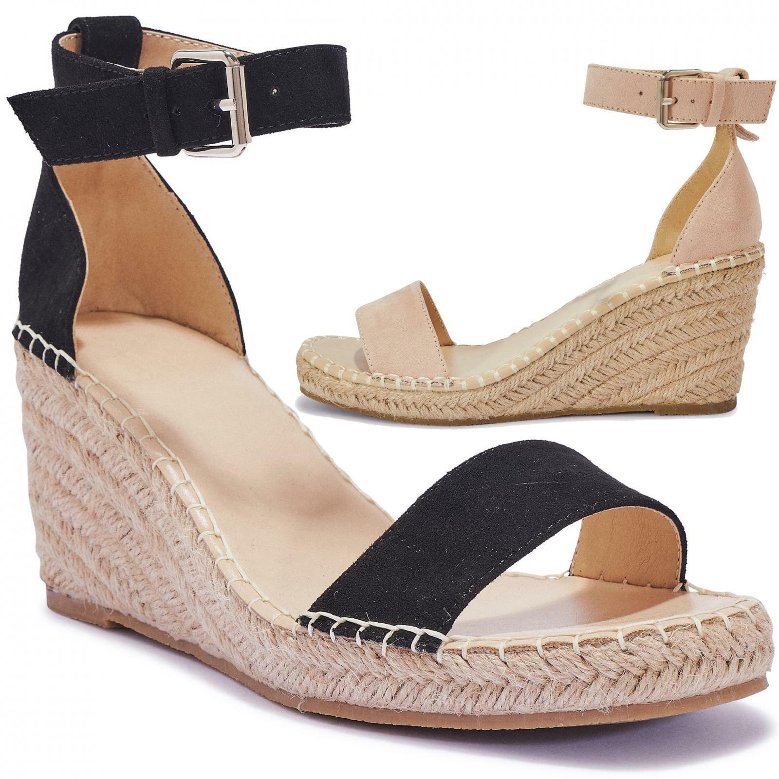 Hardy Wedge Sandal Nude Size 5.5 H8nz