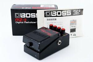 BOSS-MZ-2-Digital-Metalizer-Guitar-Effect-Pedal-Distortion-Excellent-From-JP