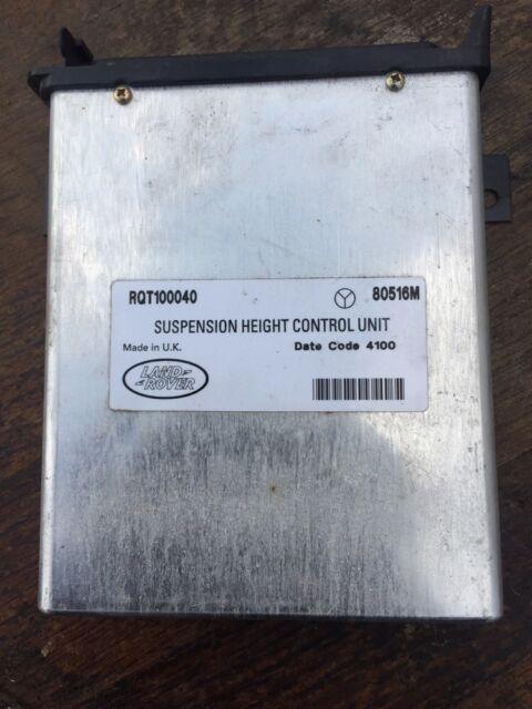 Range Rover P38 2.5 4.0 4.6 Suspension Height Control Unit Ecu RQT100040 👍