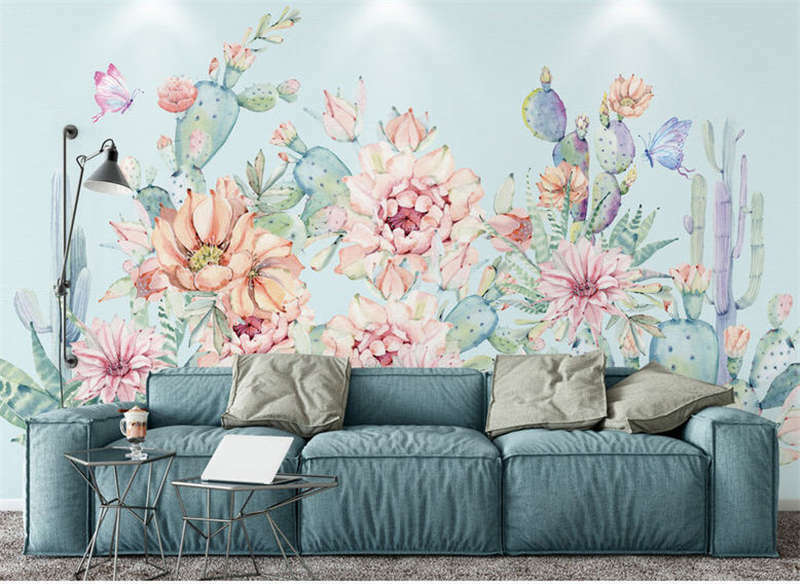Whole Multiple Lily Lily Lily 3D Full Wall Mural Photo Wallpaper Printing Home Kids Decor 6ae91c