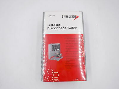 Diversitech DDS-60U Pull-Out Disconnect Switches
