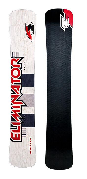 F2 Eliminator WC Titanal Snowboard 163 Boardercross Freecarve FREERIDE BOARD