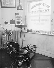 Dentist Poster Art Print Dental Instruments Tools Vintage Chairs Photos  MVP348