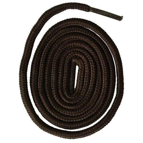 Shoelaces Lacets Cordon Rond 5mm Chaussures Bottes De Rand 29 Couleur  7 Longeur