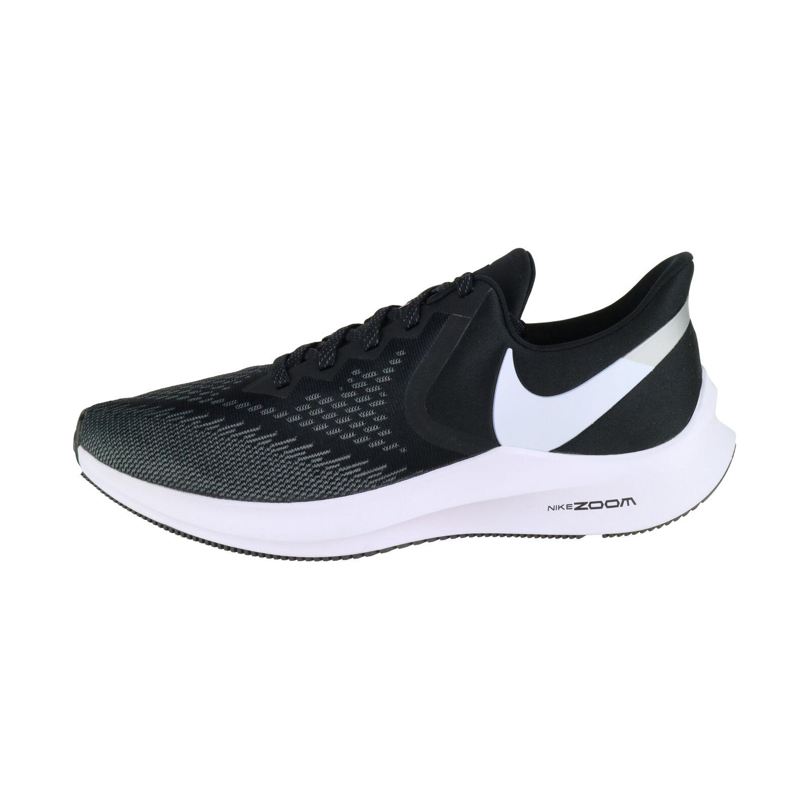 Nike Air zoom winflo 6 negro blancoo aq7497-001