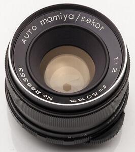 Auto-Mamiya-Sekor-50mm-50-mm-1-2-2-M42-Anschluss