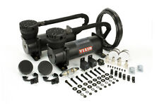 Viair 48042 - BLACK 480C Dual Air Compressor Pack w/ Pressure Switch & Relays