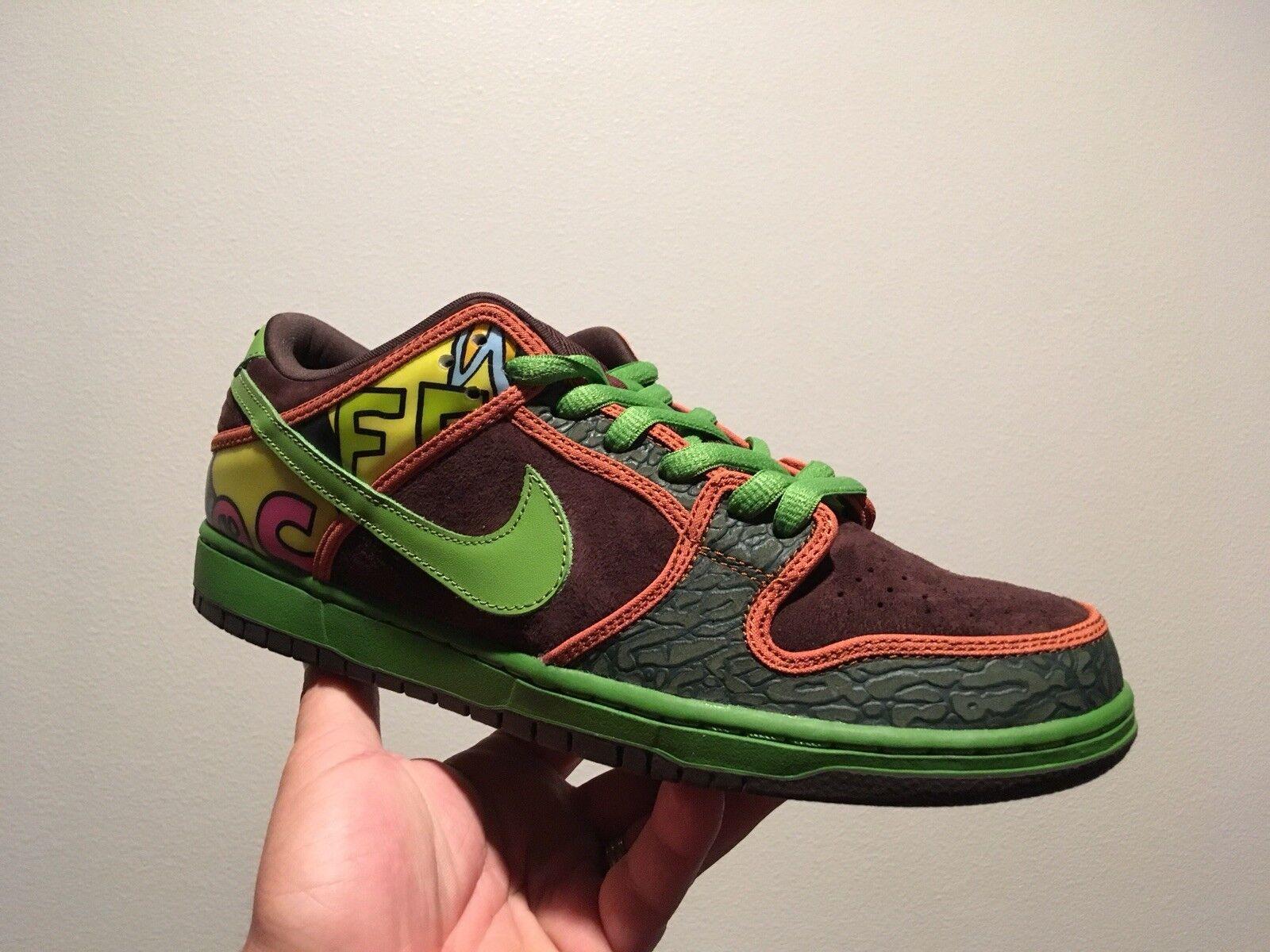 Nike Sb Dunk Low De La Soul DS 10.5