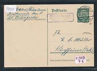 94221) DDR, Landpost - Ra2 Breitenrode über Oebisfelde, GA 1938
