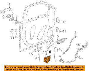 image is loading gm-oem-front-door-lock-actuator-motor-13597536