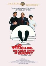Who is Killing the Great Chefs of Europe 1978 (DVD) George Segal - New!