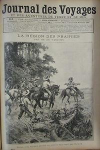 Zeitung-der-Voyages-Nr-854-von-1893-USA-Unis-Region-der-Grassland-George-Blume