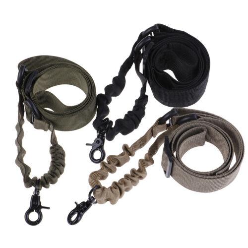 Tactical Three Point Rifle Gun Sling Strap System Airsoft 3 Points Gun Sl~PL