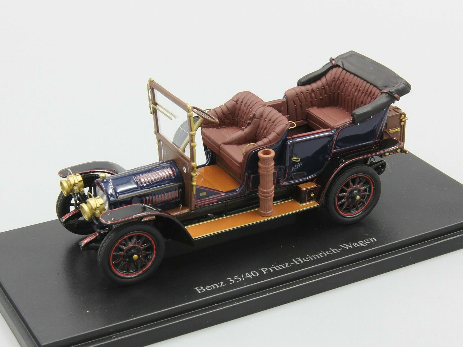 Autocult 1 43 Benz 35 40 Prinz-Heinrich-Wagen, blu, Alemania, 1906