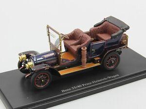 Autocult-1-43-Benz-35-40-Prinz-Heinrich-Wagen-blue-Germany-1906