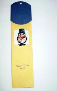 Princess-Diana-William-Wrist-Watch-Portrait-Blue-Band-Women-039-s-Mint-Condition