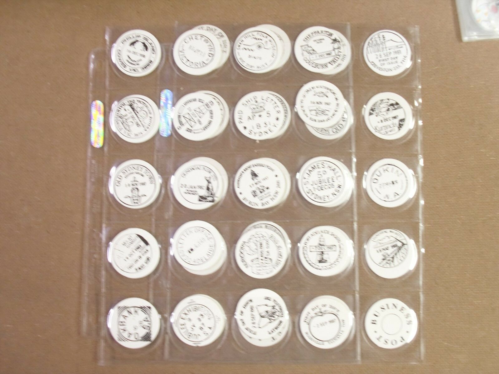 POGS AUSTRALIAN POST COLLECTOR STAMP SET OF ALL  36+4  AWESOME