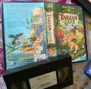 VHS Walt DISNEY - TARZAN & JANE (ITA 1° Ed 2002) VHS Film Leggenda Tarzan 2 - Italia - VHS Walt DISNEY - TARZAN & JANE (ITA 1° Ed 2002) VHS Film Leggenda Tarzan 2 - Italia