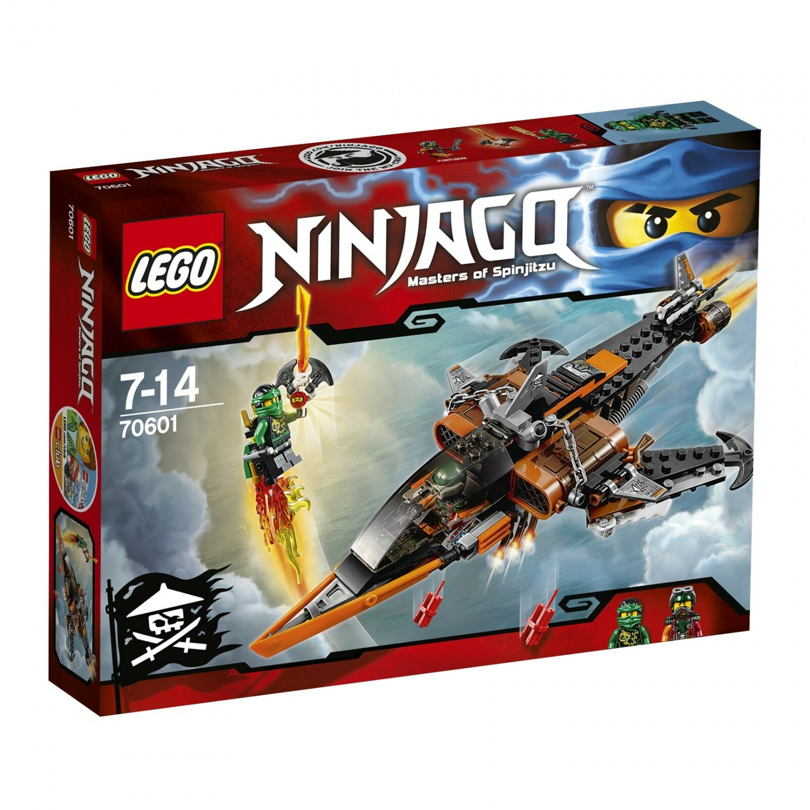 LEGO ® Ninjago ™ 70601 Air-Requin NEUF neuf dans sa boîte _ Sky Shark NEW En parfait état, dans sa boîte scellée Boîte d'origine jamais ouverte