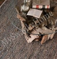 9 X 12 Hand Woven Brown Rescued Leather Area Rug Neiman Marcus Sustainable
