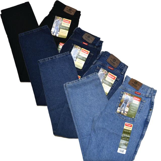 Wrangler Mens Jeans Five Star Premium Denim Jean Regular Fit 96501
