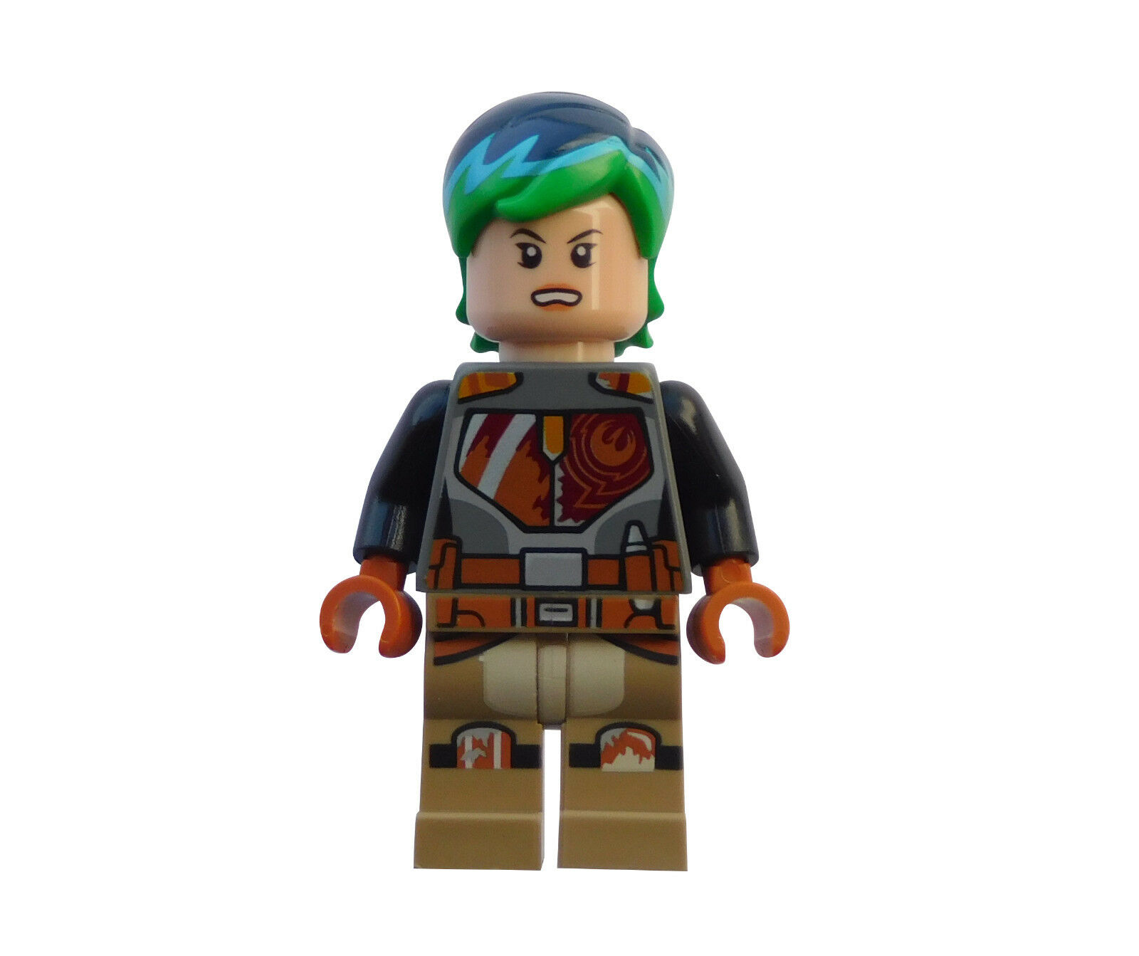RARE LEGO BOUNTY HUNTER SABINE WREN MINIFIGURE 75106 STAR WARS REBELS