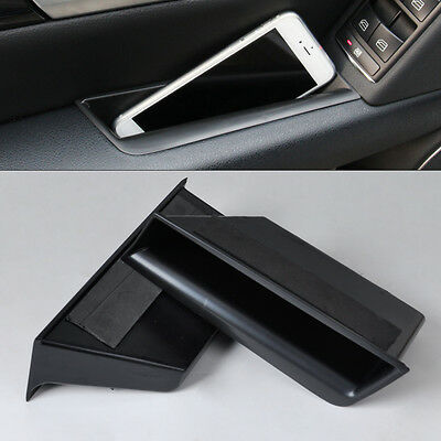 2* Front Door Armrest Storage Box container For Benz C-Class W204 2008-2013