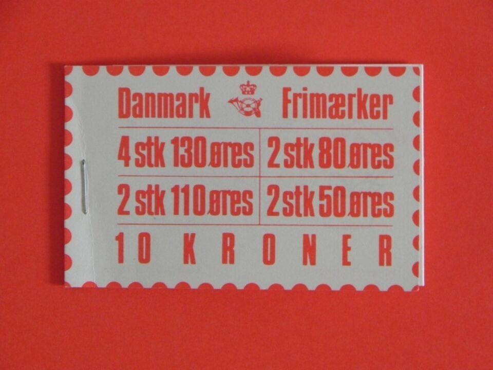 Danmark, postfrisk, Frimærkehefter H20