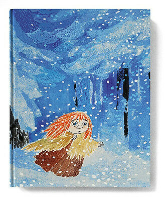 Moomin Notebook Tove 100 Miffle in Winter Forest 128 Blank Pages Putinki